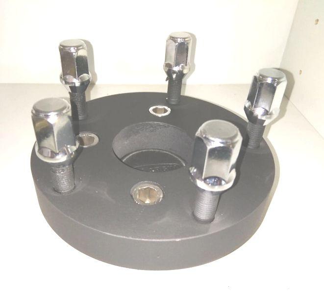 02 Pçs Adaptador de roda gol de 4x100mm p/ 5x139,7mm Jeep/ Landau F1000