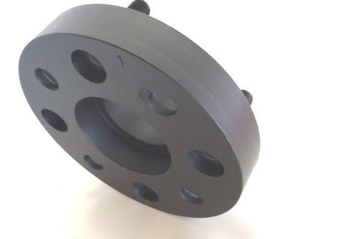 02 Pçs Adaptador De Roda Honda Fourtrax 4x110mm P/ 4x100mm 40mm Espessura