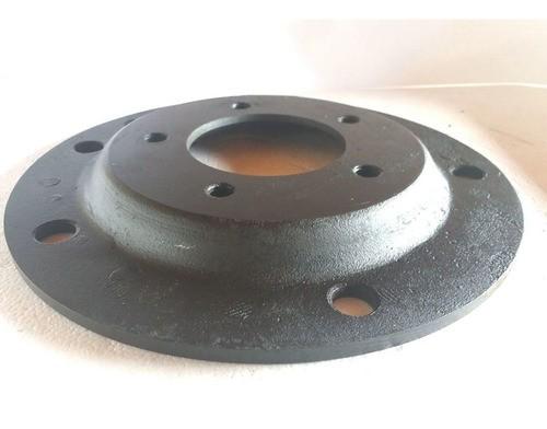 02 Pçs Adaptador Roda Fusca 5 F 5x205mm P/ 6x139,7mm C Paraf