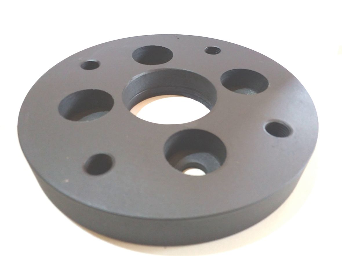 02 Pçs Adaptador Roda Gol Fusca 4x100mm P/ 4x130mm 22mm Spf