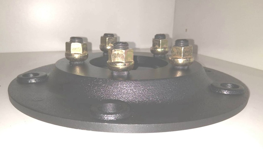 02 Pçs Adaptador Roda Kombi Antiga 5x205mm p/ 5x112mm Clipper PR
