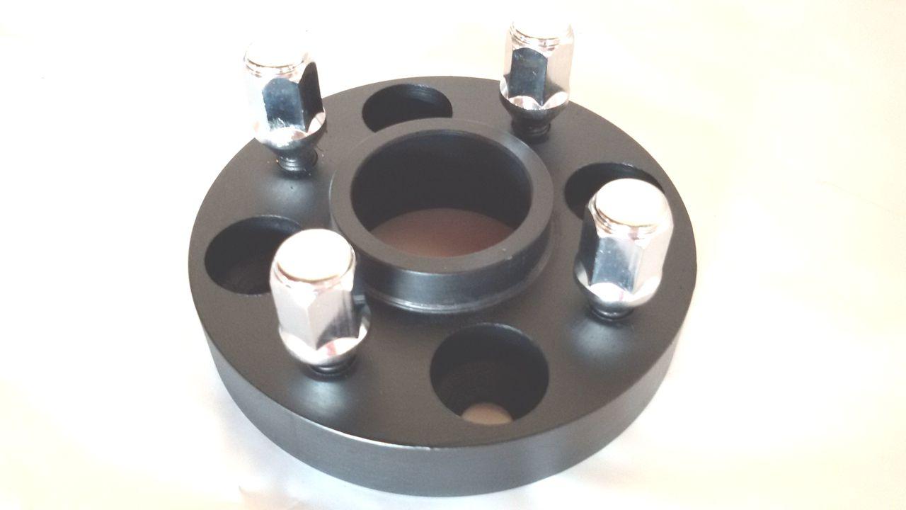 02 Pçs Adaptador Roda Nissan 4x114mm P/ 4x100mm 25mm Prcr
