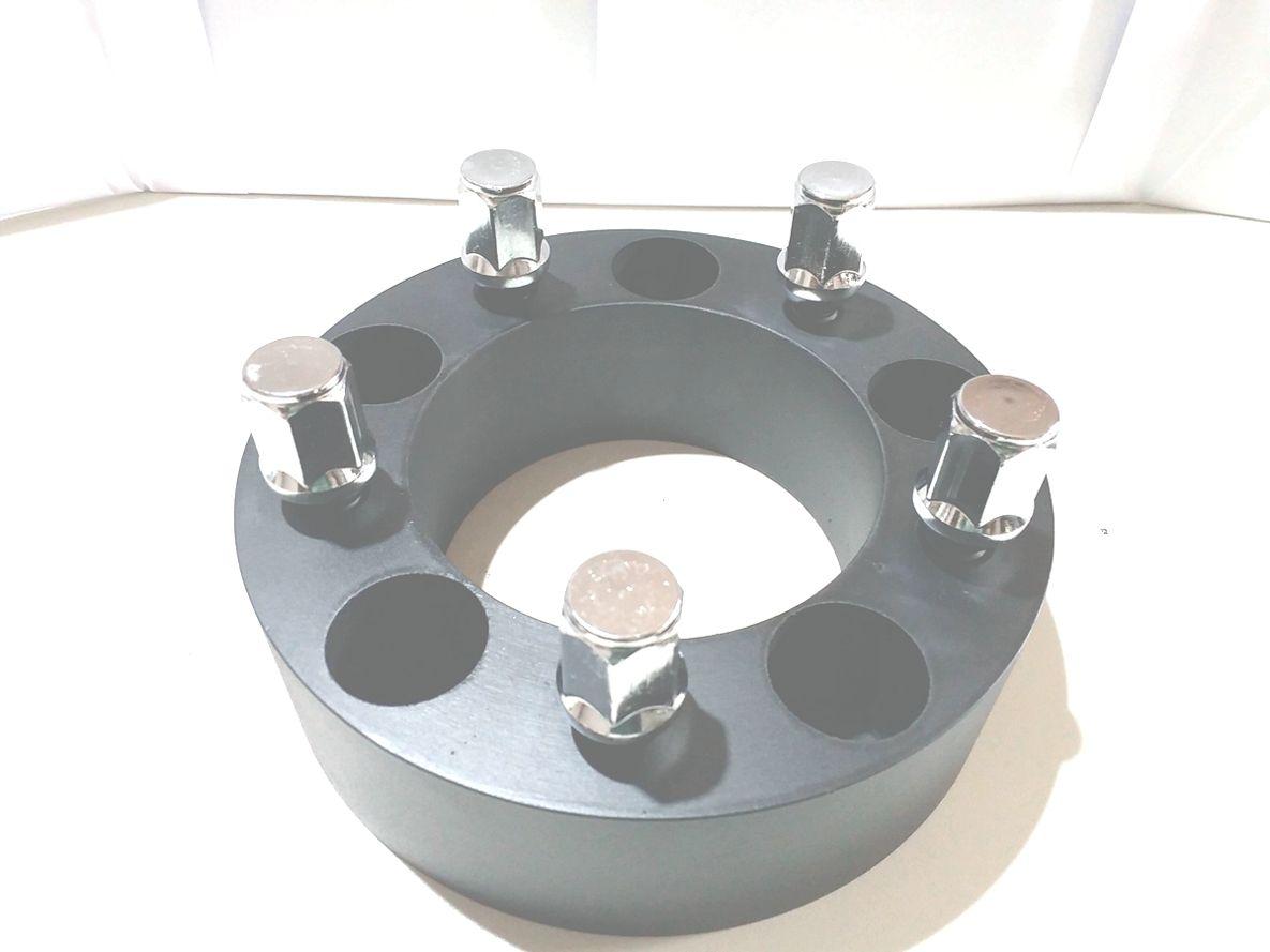 02 Pçs Espaçador De Roda F1000 JEEP 5x139,7mm 50mm
