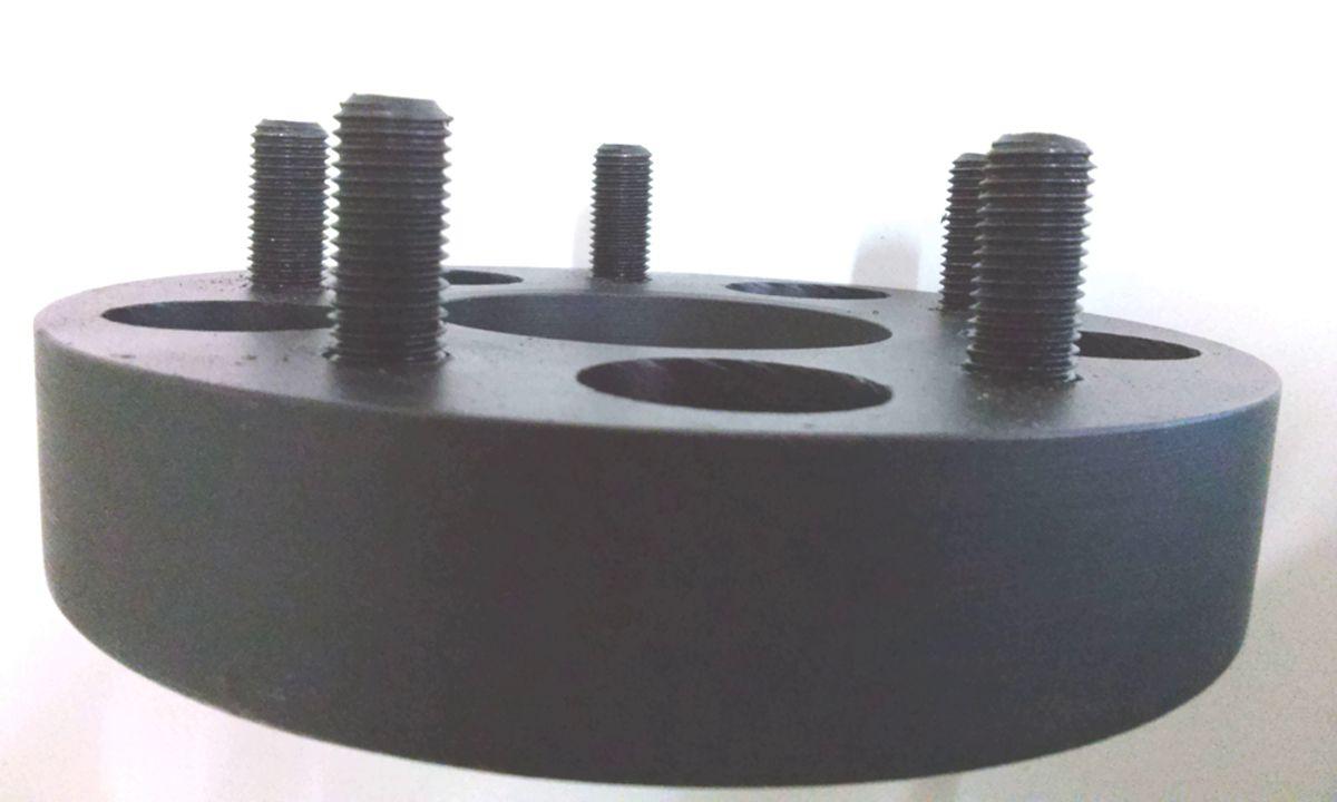 02 Pçs Espaçador De Roda Opala 5x114,3mm P/ 5x114,3mm 40mm