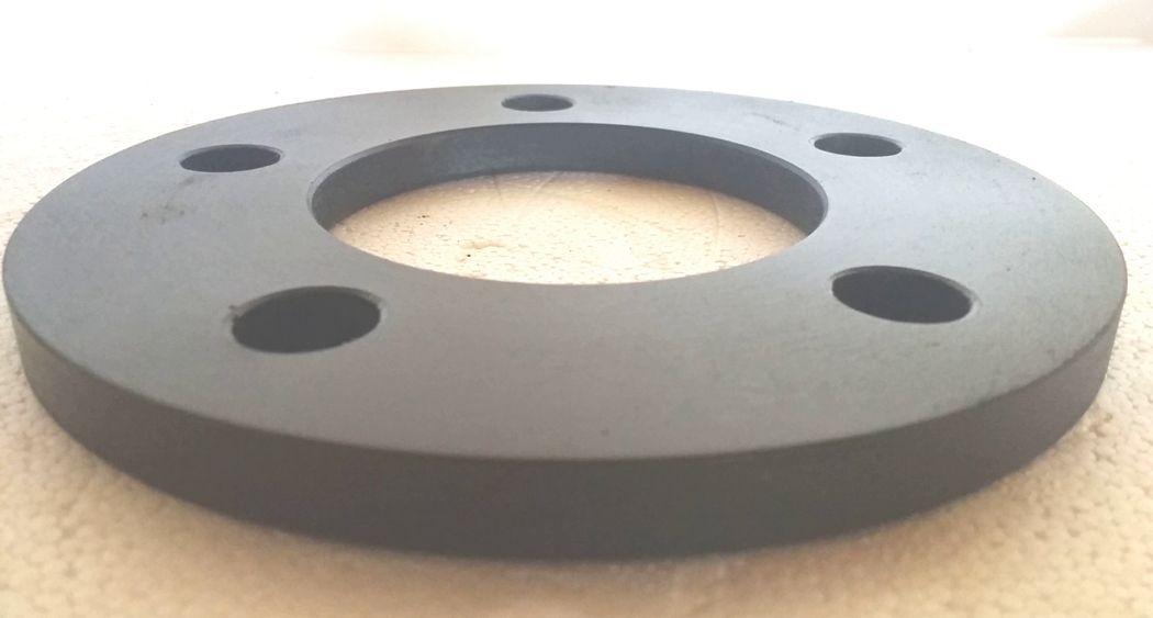 02 Pçs Espaçador De Roda Porshe 5x130mm 10mm Espessura