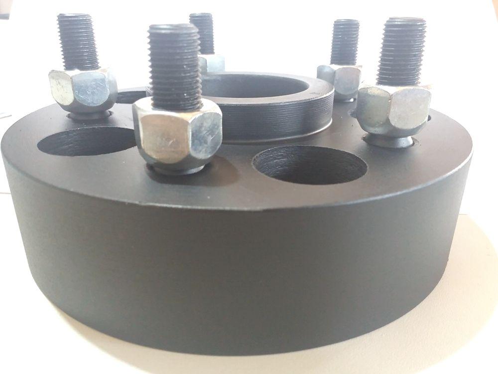 02 Pçs Espaçador De Roda S10 5x120mm P/ 5x120mm 50mm