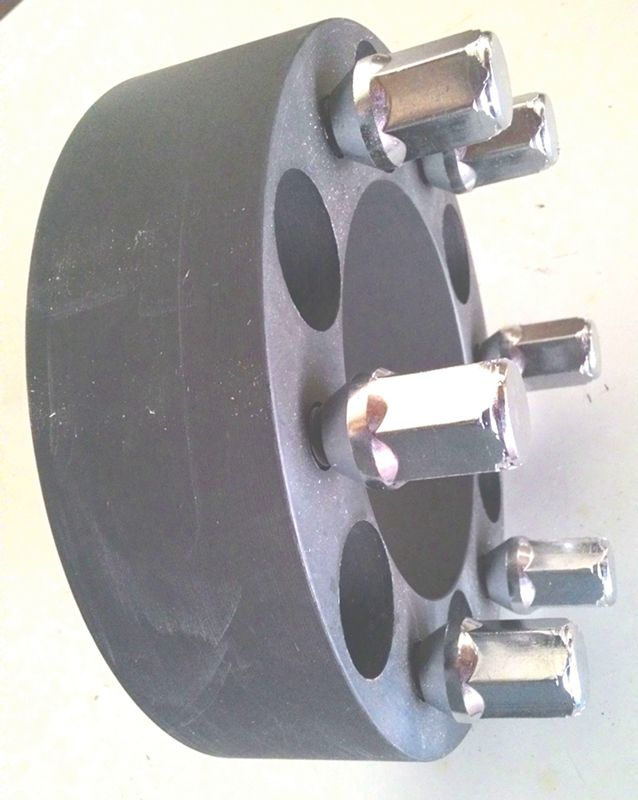 02 Pçs Espaçador De Roda Troller C10 6x139,7mm 40mm Aço Nodular