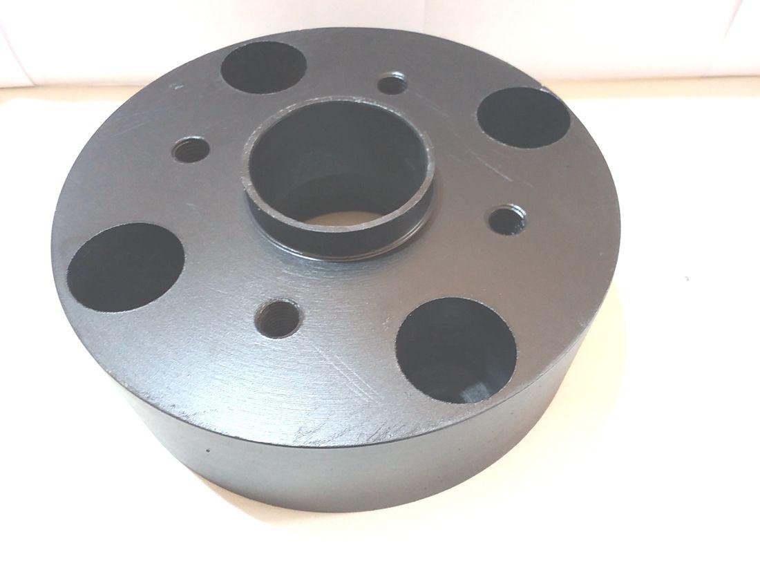 02 Pçs Espaçador Roda Gol Saveiro 4x100mm P/ 4x100mm 50mm
