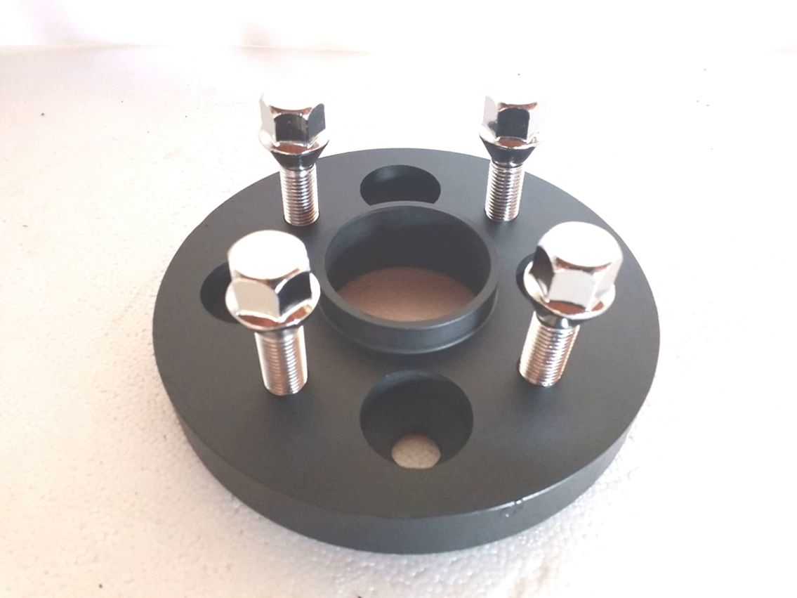 02 Pçs Espaçador Roda Para Fiat 4x98mm P/ 4x98mm 25mm Cpf