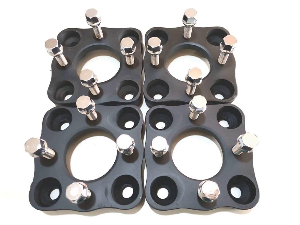 04 Adaptador De Roda Fusca 4x130mm P/ 4x108mm CPF Peugeot