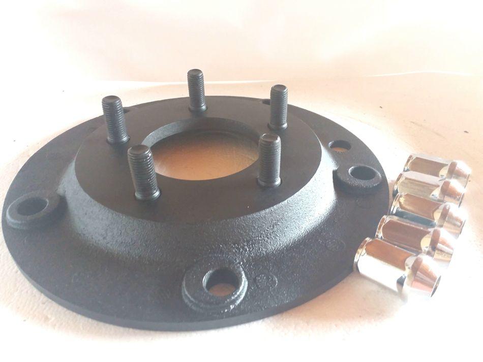 04 Pç Adaptador De Roda Fusca 5 F 5x205mm P/ 5x114,3mm PRCR