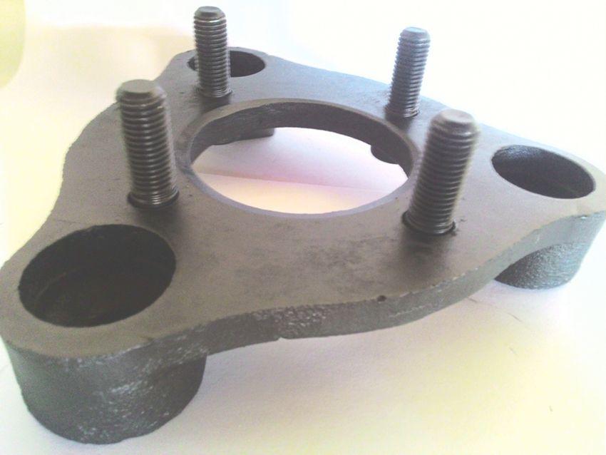 04 Pç Adaptador Roda Corcel Pampa 3x150mm P/ 4x98mm Fiat Cro