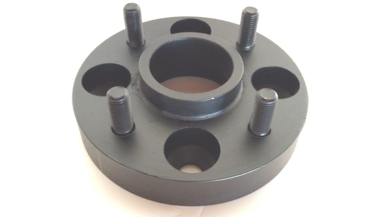 04 Pç Adaptador Roda Nissan 4x114,3mm P/ 4x100mm 25mm Prcr