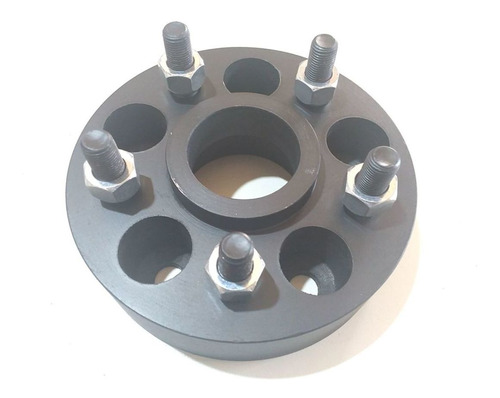 04 Pç Espaçador Roda S10 5x120mm P/ 5x120mm 40mm Aço Nodular