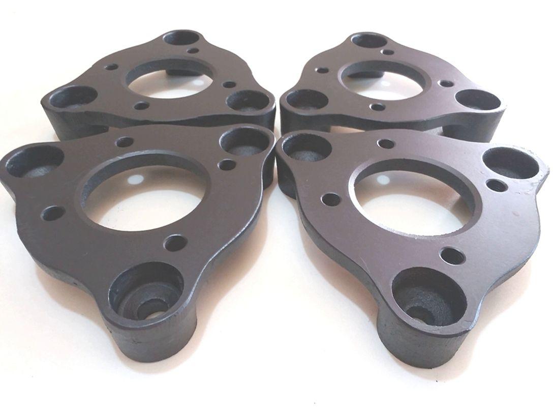 04 Pçs Adaptador de roda Corcel Pampa 3x150mm p/ 4x108mm spf