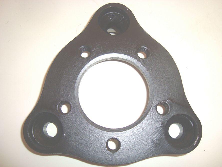 04 Pçs Adaptador de Roda Corcel Pampa 3x150mm P/ 5x114,3mm cpf