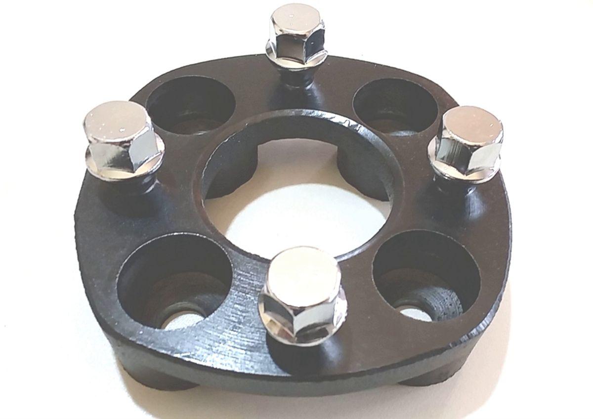 04 Pçs Adaptador de roda Gol 4x100mm p/ 4x108mm 28mm cpf