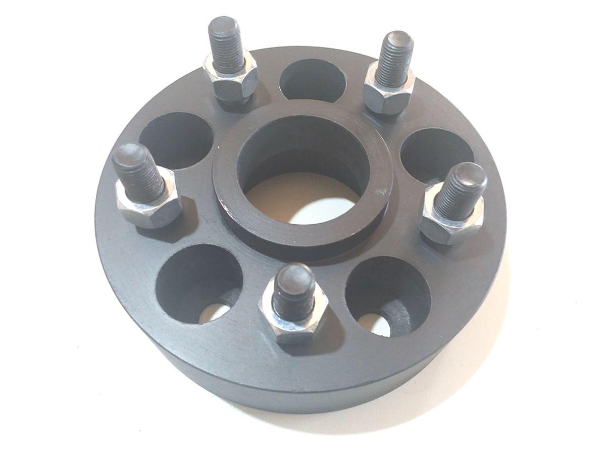 04 Pçs Adaptador De Roda S10 5x120mm P/ 5x114,3mm 24mm