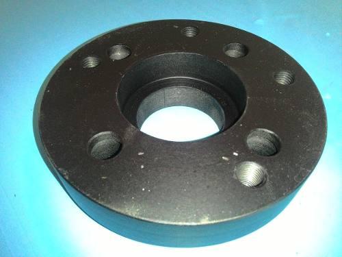 04 Pçs Adaptador Roda Citroen 4x108mm P/ 5x100mm 25mm Polo