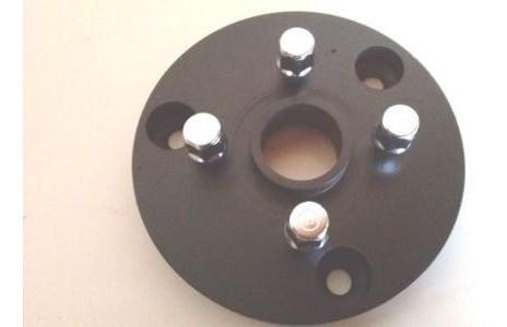 04 Pçs Adaptador Roda Corcel Pampa 3x150mm P/ 4x108mm Cbprcro