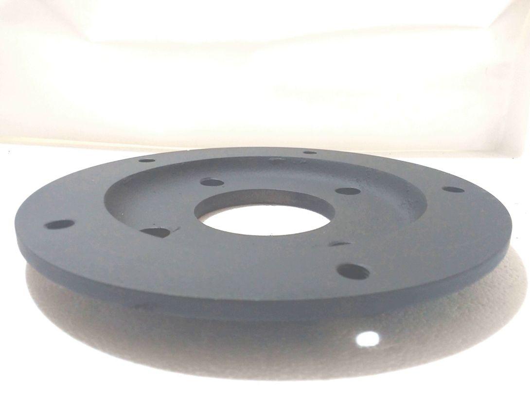 04 Pçs Adaptador Roda Fusca 4 Furos 4x130mm P/ 5x205mm C/ Paraf