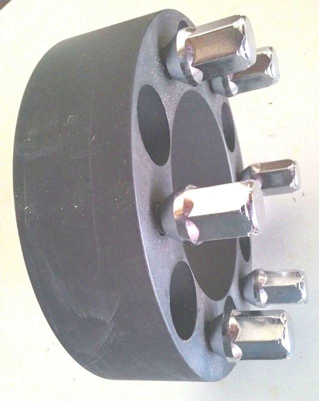 04 Pçs Espaçador de roda Troller Novo 6x139,7mm p/ 6x139,7mm 38mm