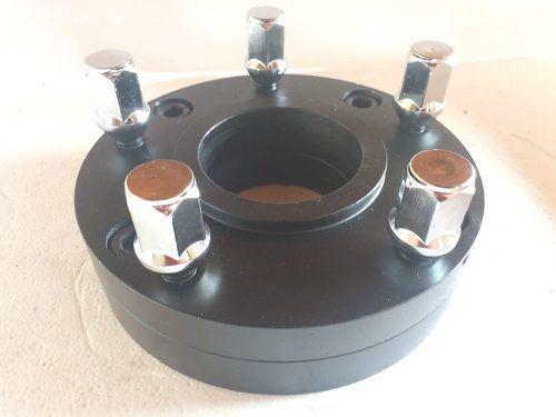 02 Pç Adaptador De Roda Gol 4x100mm P/ 5x120mm Bipart 45mm