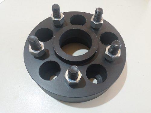 04 Pçs Adaptador De Roda S10 5x120mm P/ 5x100mm 25mm Esp