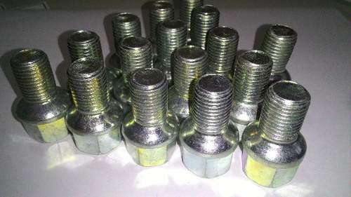 20 Pçs Parafusos de roda M14 1,5 Fusca 4 Furos Zincado