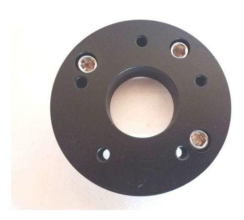 02 Pçs Adaptador De Roda Gol 4x100mm P/ 6x114,3mm 25mm CPF