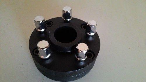 04 Pçs Adaptador De Roda Fusca 4 De 4x130mm P/ 6x139,7mm C/45mm