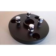 02 Pçs Adaptador de Roda Corcel Pampa 3x150mm P/ 4x100mm Cb