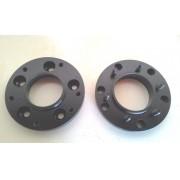 02 Pçs Adaptador De Roda S10 5x120mm P/ 6x139,7mm 45mm