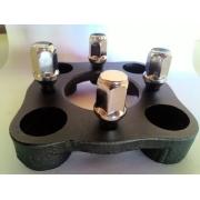 04 Adaptador De Roda Fusca 4 Furos 4x130mm P/ 4x100mm Prcr