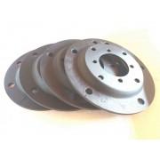 04 Pç Adaptador Roda Fusca 5x205mm P/ 4x130mm 4x100mm