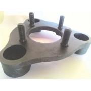 04 Pçs Adaptador de Roda Corcel Pampa 3x150mm P/ 4x100mm pcr