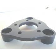 04 Pçs Adaptador de Roda Corcel Pampa 3x150mm P/ 5x114,3mm spf