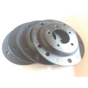 04 Pçs Adaptador Roda Fusca 5 F 5x205mm P/ 5x100mm SPF