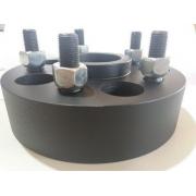 04 Pçs Espaçador De Roda S10 5x120mm P/ 5x120mm 25mm