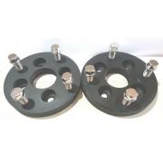 2 Pç Adaptador Roda Gol 4x100mm P/ 4x130mm 22mm Cpf P/ Fusca