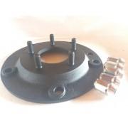 4 Pç Adaptador Roda Fusca 5 F 5x205mm P/ 5x100mm Pcr Golf