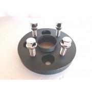 4 Pçs Adaptador de roda Gol 4x100mm p/ 4x108mm 25mm cpf