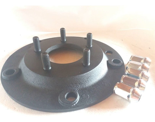 2 Pç Adaptador Roda Fusca 5 F 5x205mm P/ 5x114,3mm Opala Pc