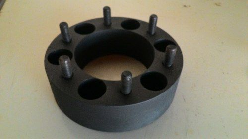 2 Pç Espaçador Roda Troller D10 D20 6x139,7mm 50mm