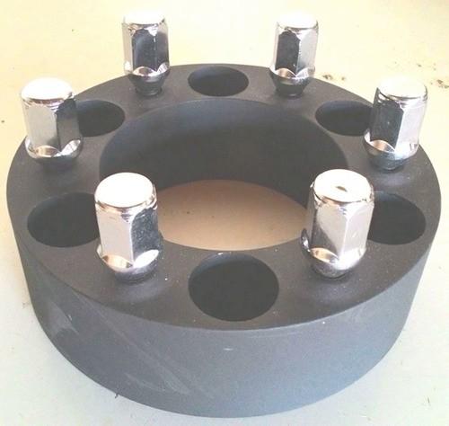 4 Pç Espaçador Roda Troller C10 6x139,7mm 35mm Aço Nodular