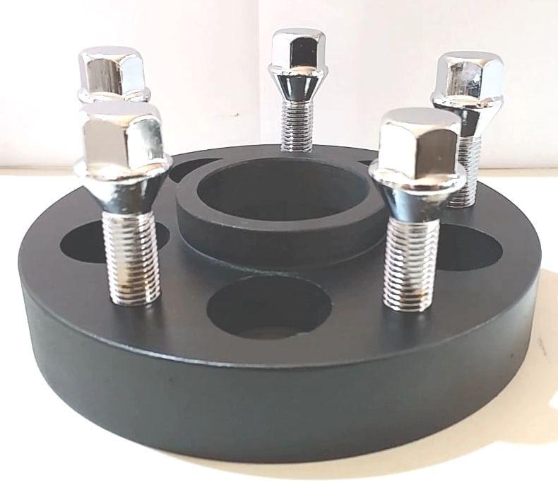 4 Pçs Adaptador Roda Omega 5x110mm P/ 5x100mm Golf 25mm cpf