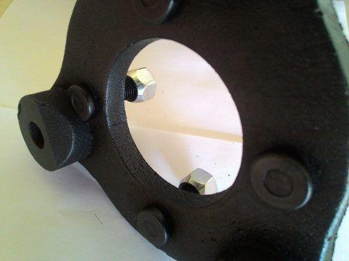 02 Pçs Adaptador de Roda Corcel Pampa 3x150mm P/ 4x98mm pzi