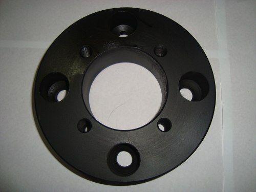 04 Pçs Adaptador Roda Trafic 4x160mm P/ 4x100mm 25mm