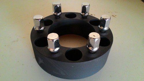 02 Pçs Espaçador De Roda Troller D10 C10 6x139,7m 22mm