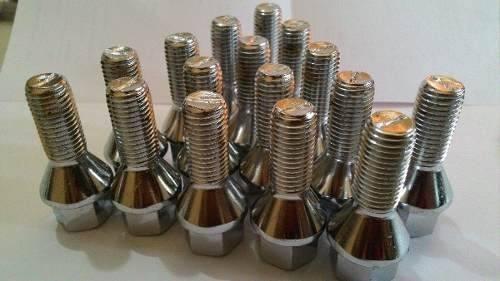 Jg 20 Parafusos Rodas Multi Conico M12 1,5 Gol e Linha Vw